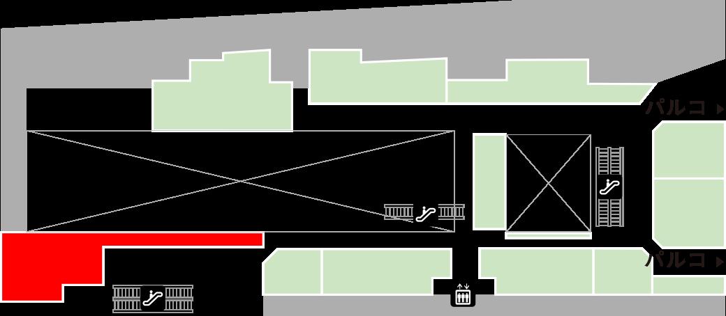 サンマルクカフェフロアマップ