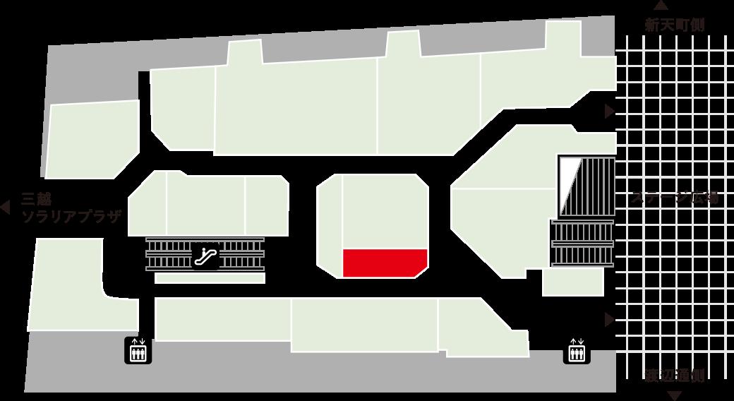 ハウスオブローゼフロアマップ