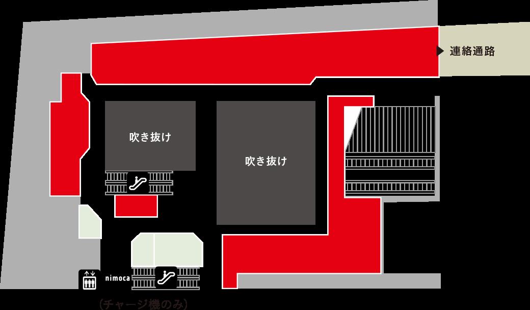 大賀薬局 ライフストリームフロアマップ