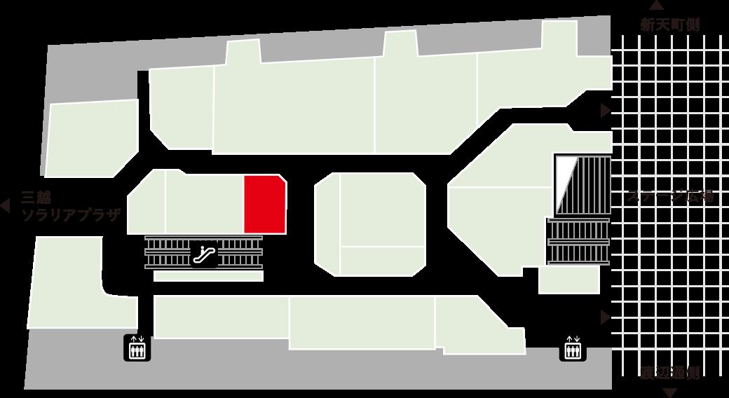 コモドフロアマップ