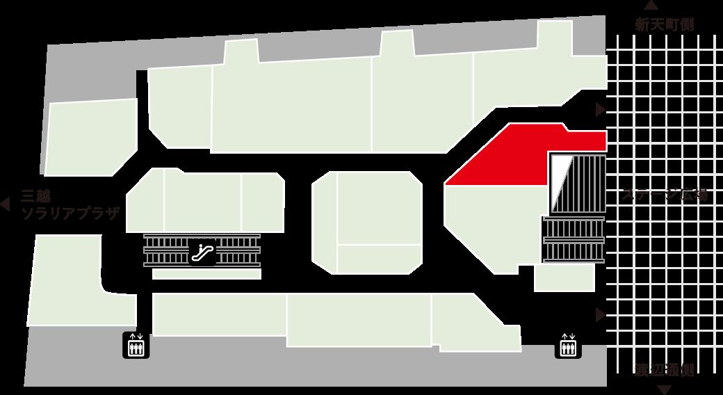 コトモノマルシェフロアマップ