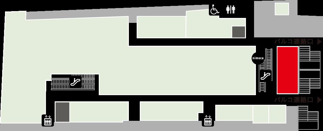 ブリオッシュ ドーレフロアマップ