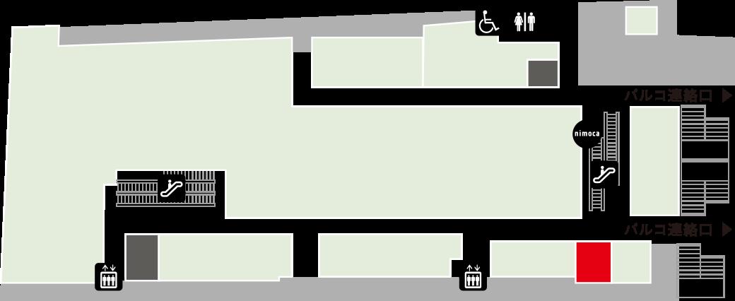 フルーツパーラーノトキフロアマップ