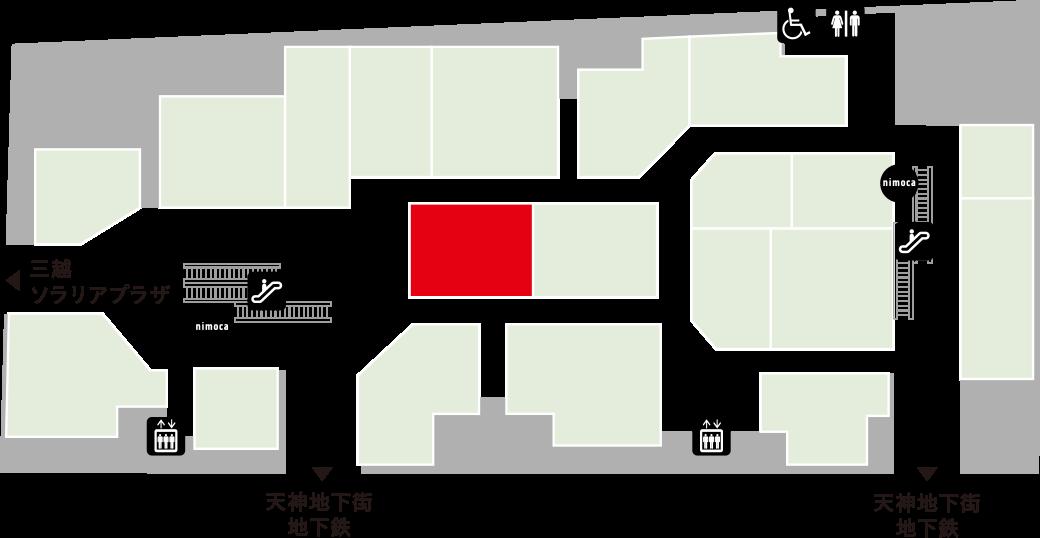 センターリバーフロアマップ