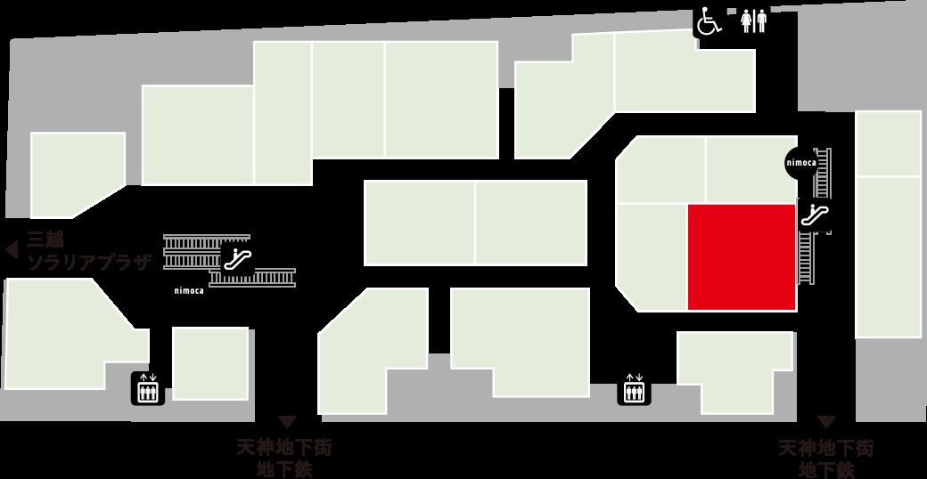 牛心食堂フロアマップ