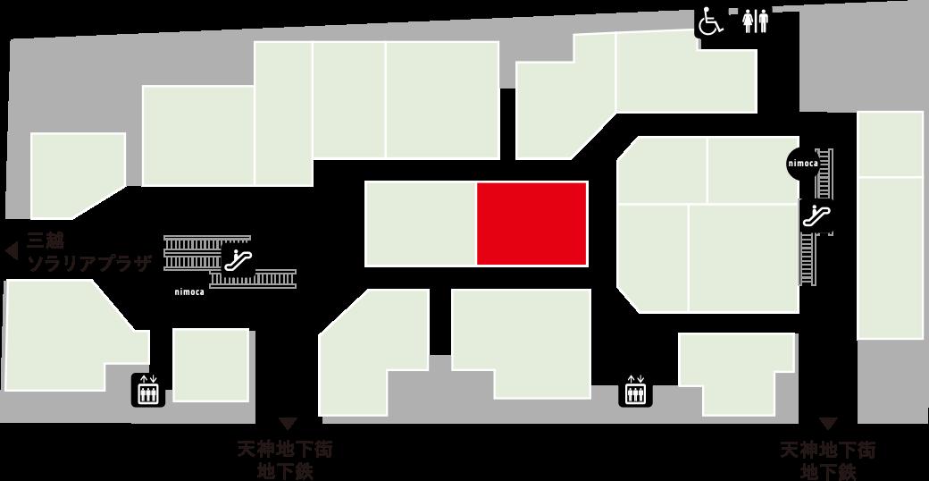 ヒッコリーフロアマップ
