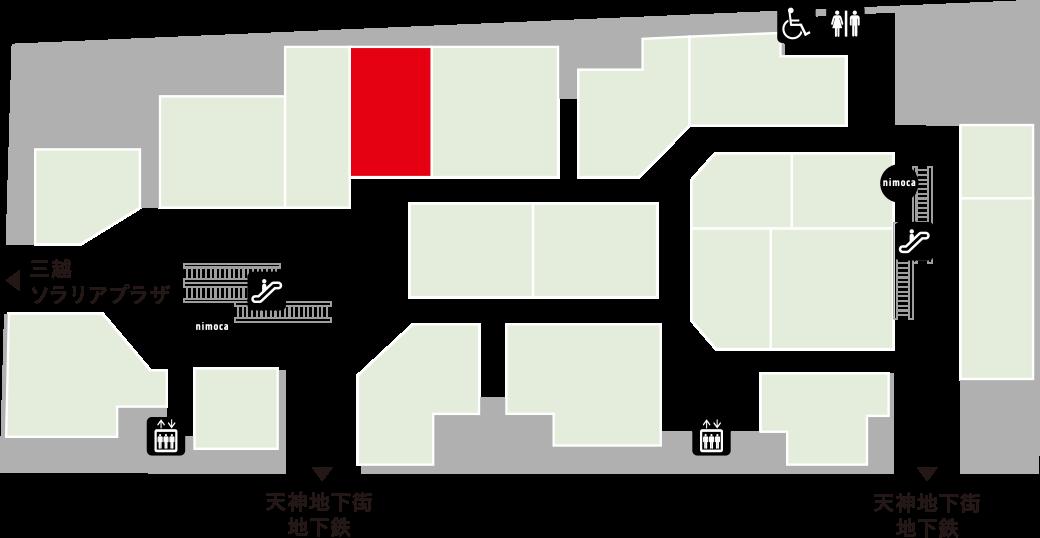 石蔵フロアマップ