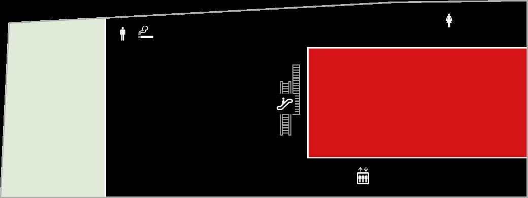 西鉄ホールフロアマップ