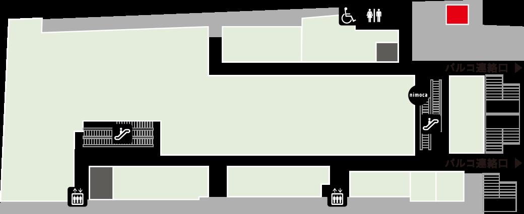 福岡占い五大院フロアマップ