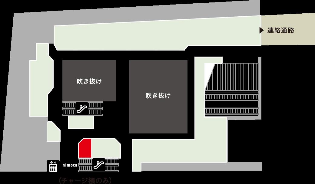 新生堂フロアマップ