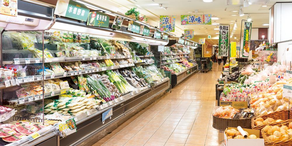 スーパーマーケット レガネット天神