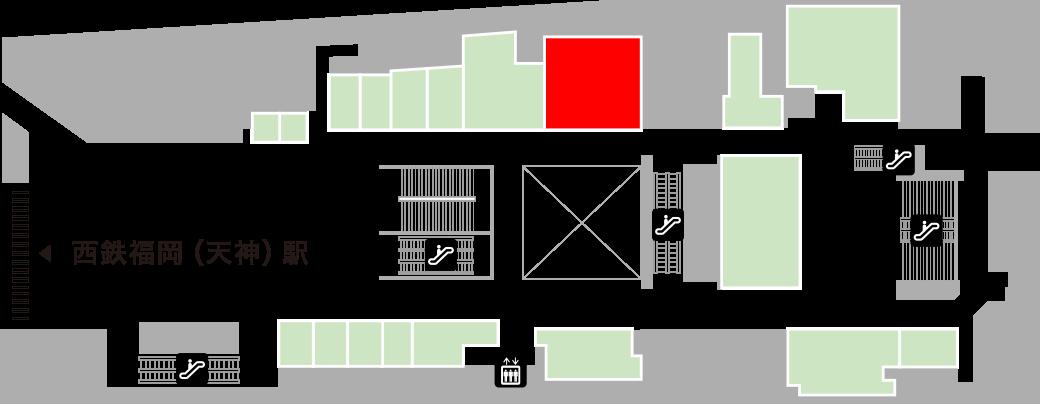 ビアテリア プロントフロアマップ