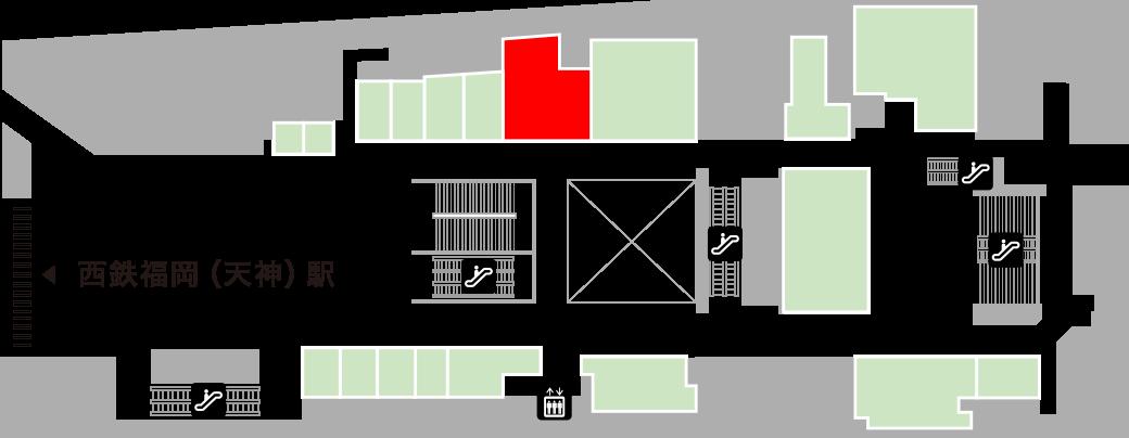 レガネットキュートフロアマップ