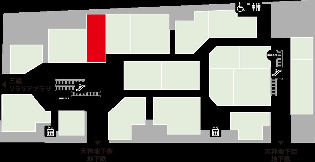 パーラーコマツフロアマップ