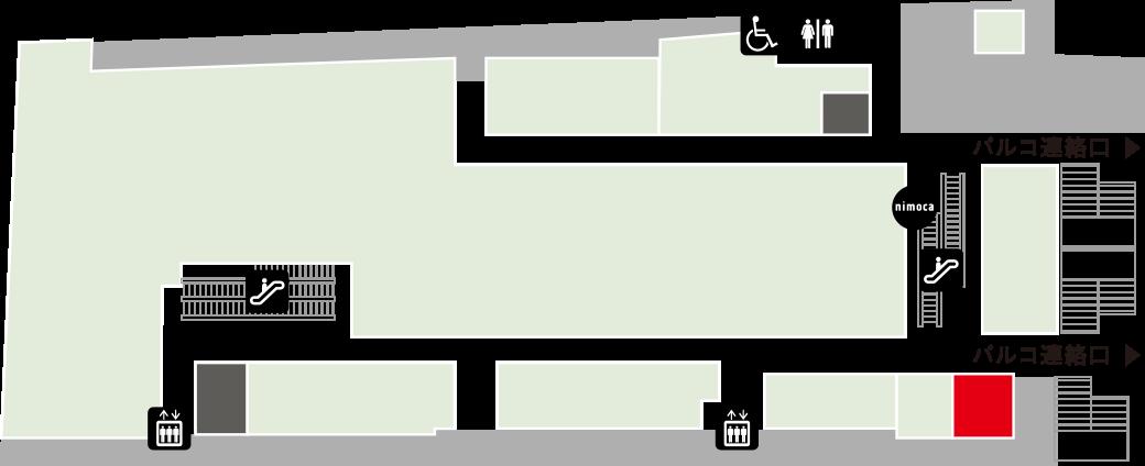 クラフト ビット ダニーチュロスフロアマップ