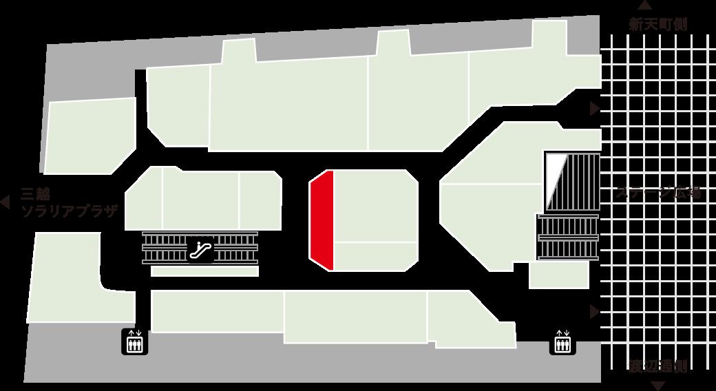 ヘアドレフロアマップ