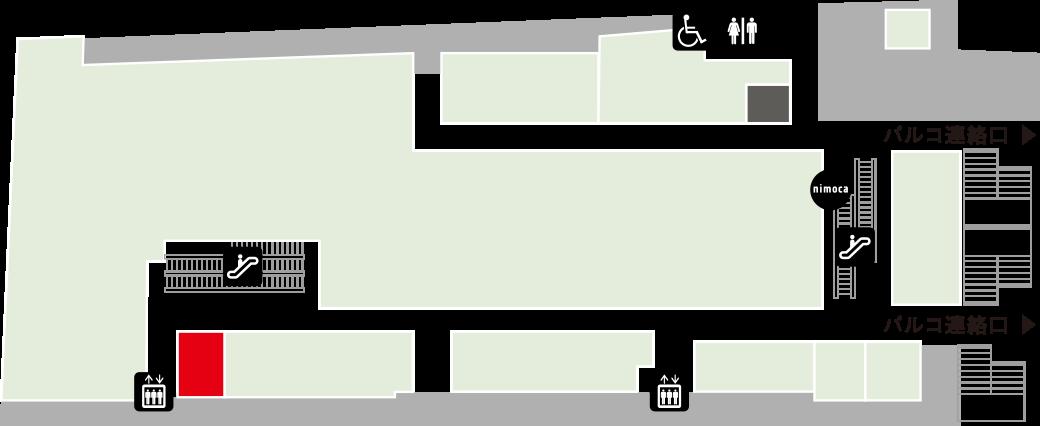 マイクロビオティックライトフード 惠葉乃杜フロアマップ
