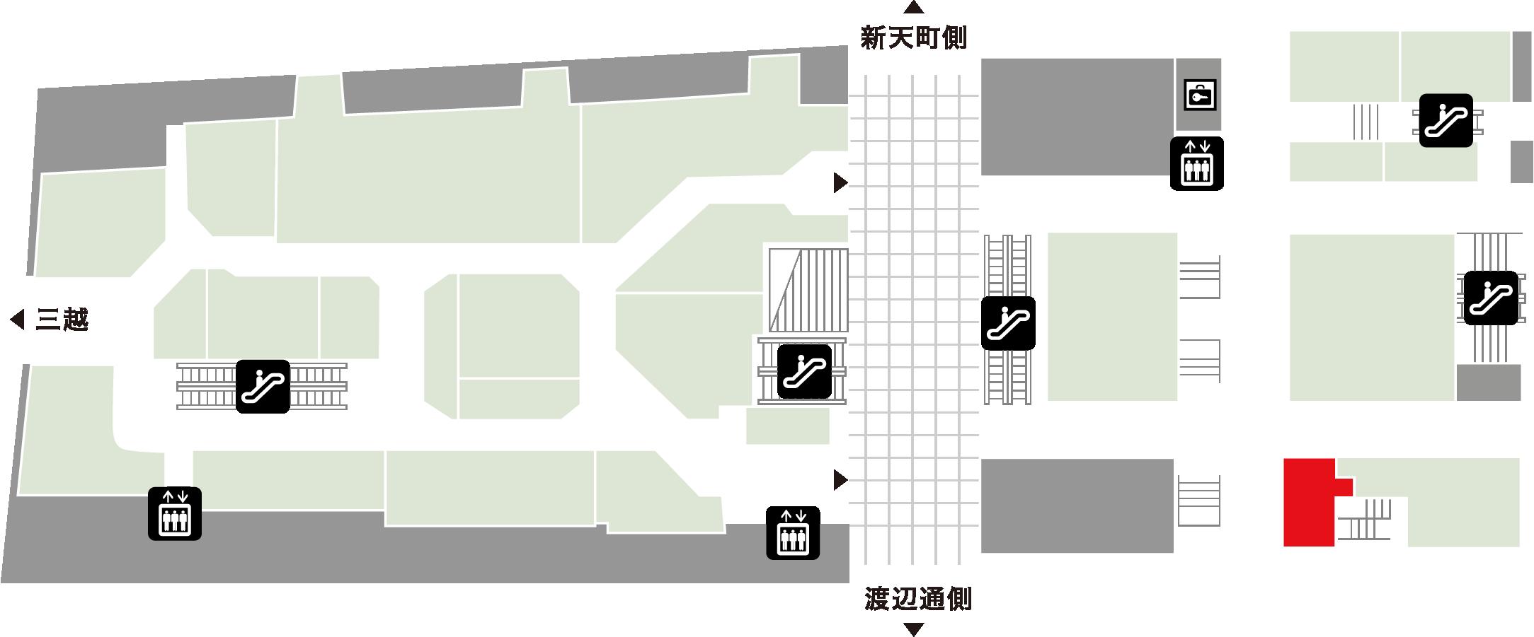 福岡銀行 ほけんと住まいの相談室フロアマップ