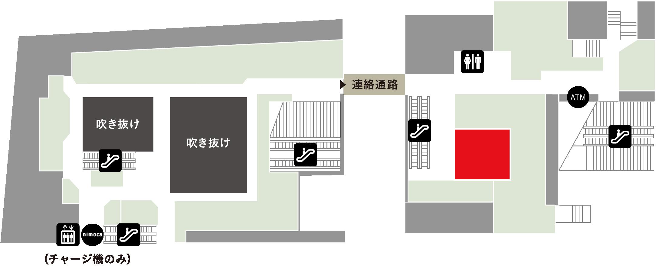 岩田時計店フロアマップ
