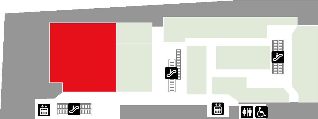 ABCクッキングスタジオフロアマップ