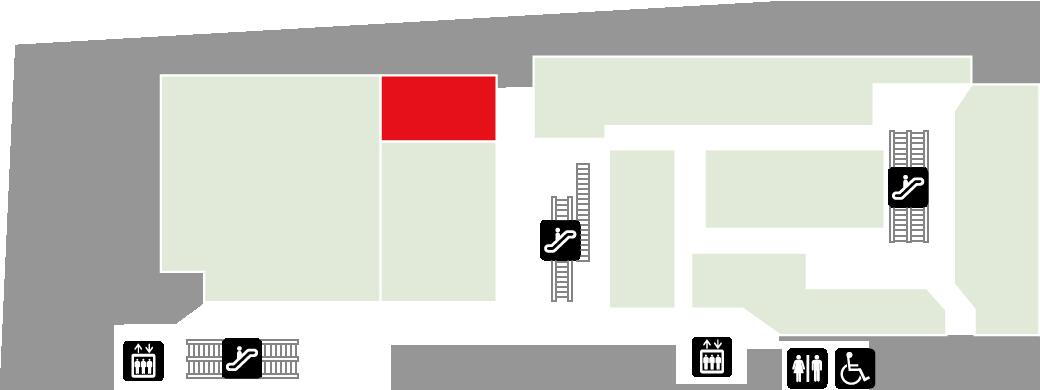 ECC外語学院フロアマップ